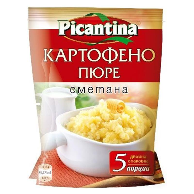 ПИКАНТИНА КАРТОФЕНО ПЮРЕ 135Г СМЕТАНА