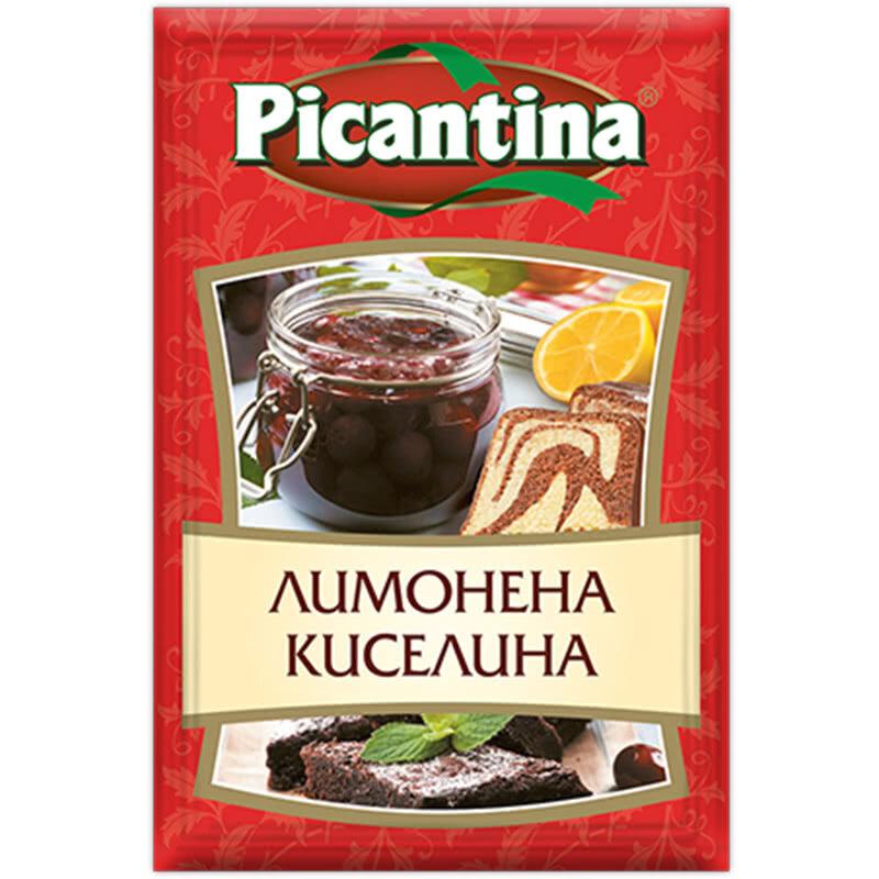 ПИКАНТИНА ПОДПРАВКА 10Г ЛИМОНЕНА КИСЕЛИНА
