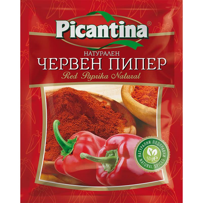 ПИКАНТИНА ПОДПРАВКА 50Г ЧЕРВЕН ПИПЕР СЛАДЪК