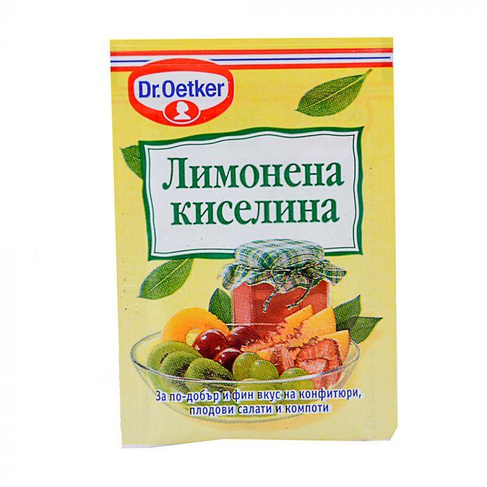 ДР ЙОТКЕР ЛИМОНЕНА КИСЕЛИНА 8Г
