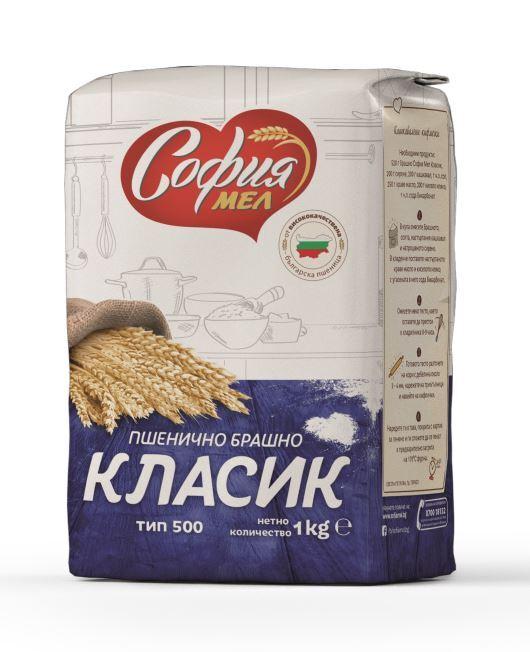 СОФИЯ МЕЛ БРАШНО ТИП 500 КЛАСИК 1КГ