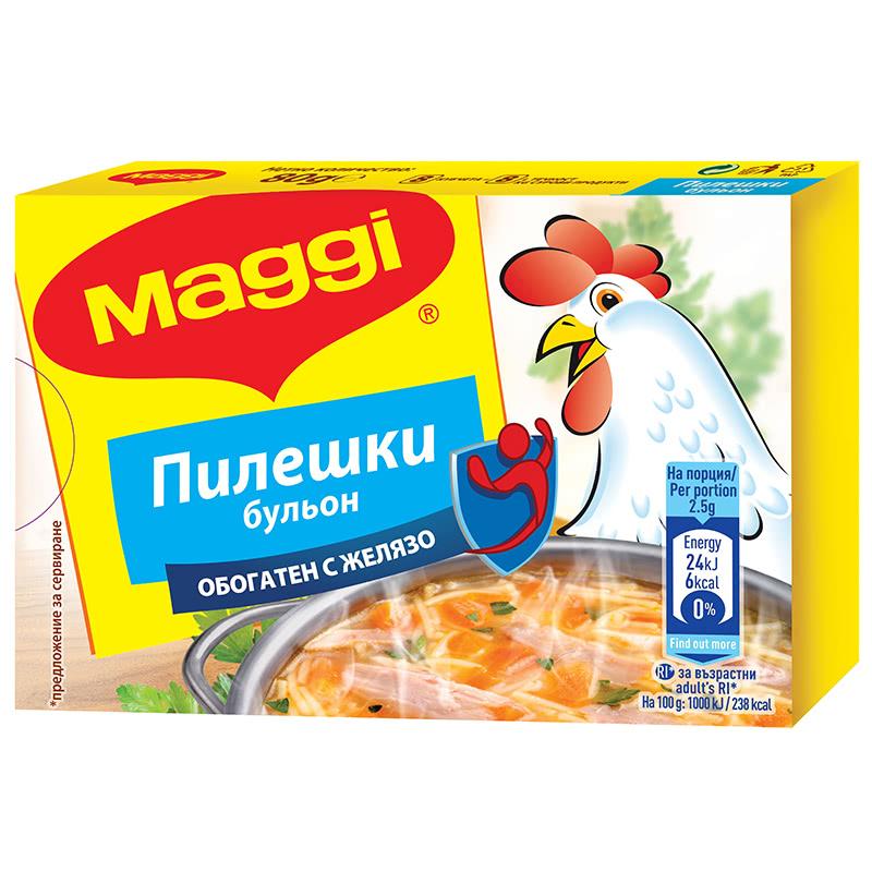 МАГИ БУЛЬОН 80Г ПИЛЕШКИ ОБОГАТЕН