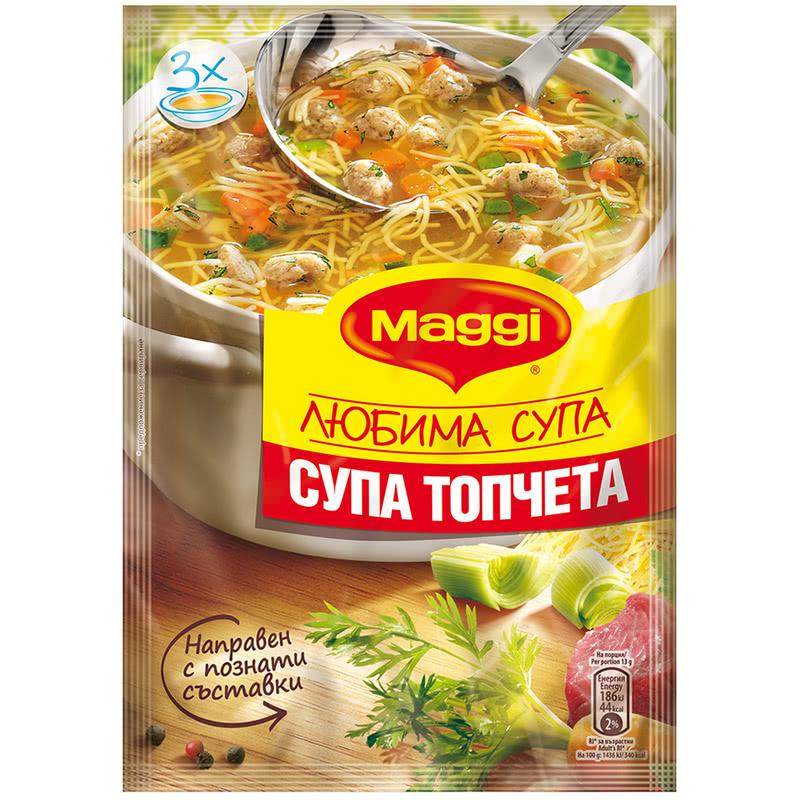 МАГИ СУПА 40Г ТОПЧЕТА