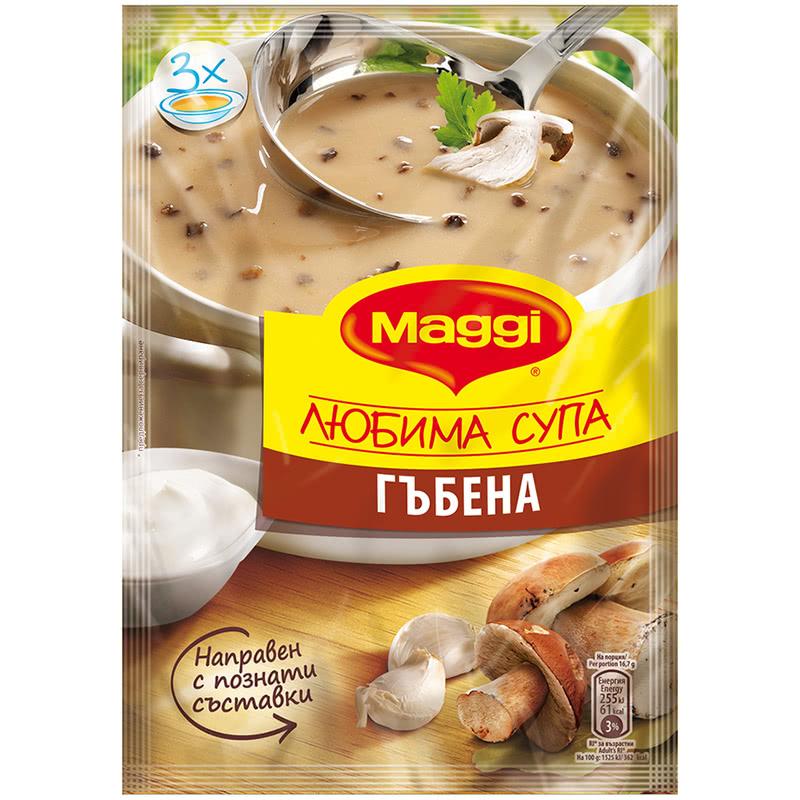 МАГИ СУПА 50Г ГЪБИ ЛЮБИМА СУПА