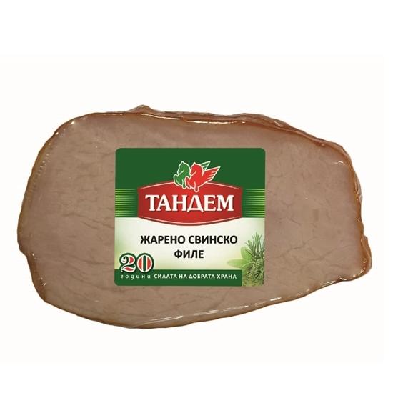 ТАНДЕМ СВИНСКО ФИЛЕ ЖАРЕНО КГ