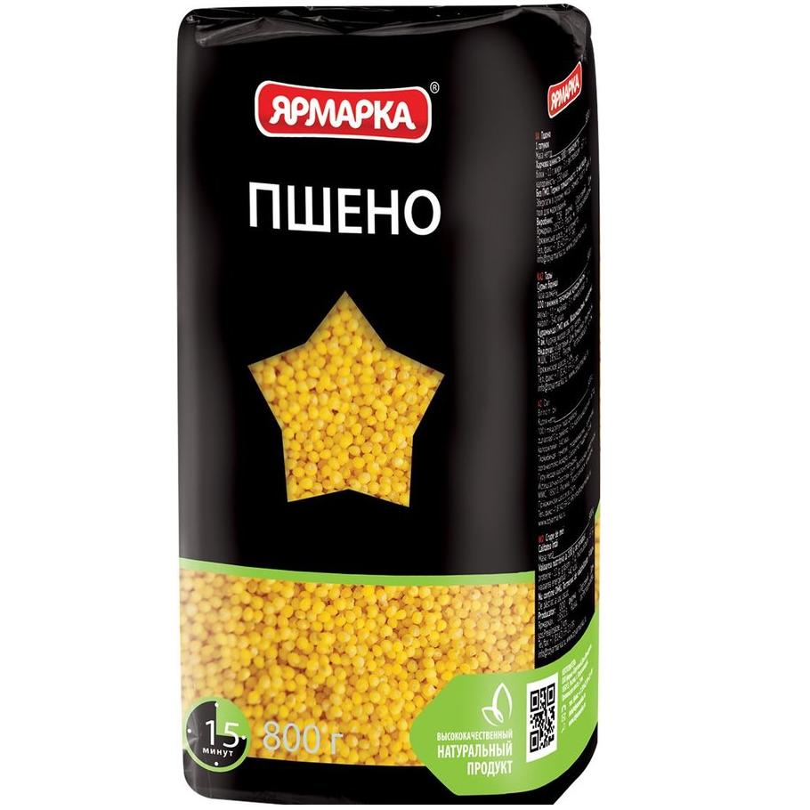 ЯРМАРКА ПРОСО 800Г