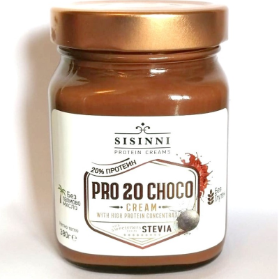 Сисини Протеинов Шоколад с Лешници 380г