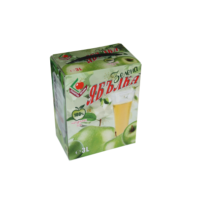 Българска Ябълка Сок Зелена Ябълка 3л