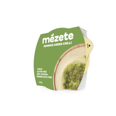 Мезете Хумус Зелен Чили Пипер 215г