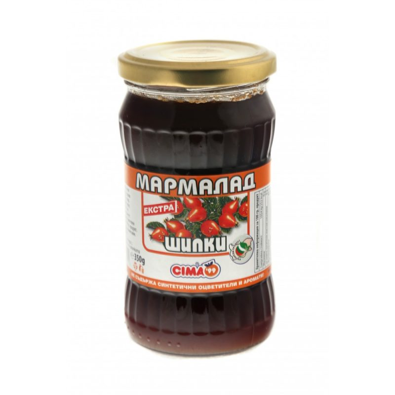 ЦИМА МАРМАЛАД ШИПКОВ 350Г