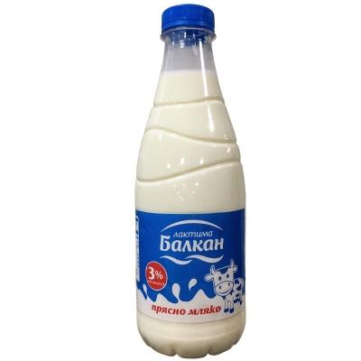 Лактима Балкан Прясно Мляко 3% 1л