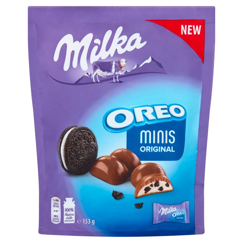 Милка Шоколадов Десерт Минис Орео 153Г