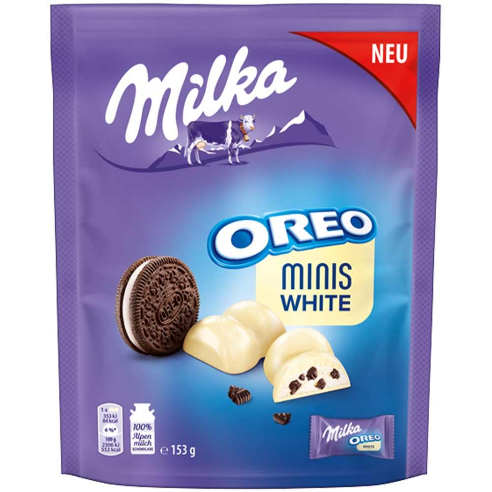 Милка Шоколадов Десерт Минис Орео Бял 153Г