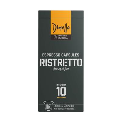 Димело Кафе Капсули Ристрето 10бр Неспресо