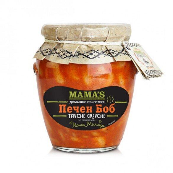 МАМАС БОБ ПЕЧЕН ТАВЧЕ ГРАВЧЕ 600Г