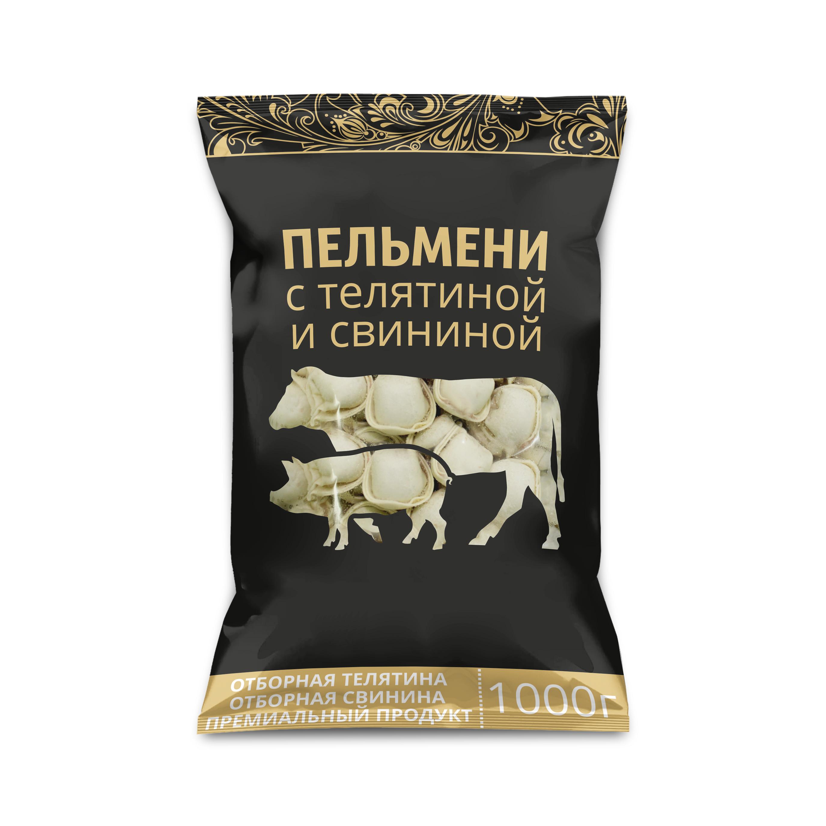 ПЕЛМЕНИ СВИНСКО И ТЕЛЕШКО МЕСО 1КГ 2304