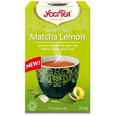 Йоги Чай Матча Лимон 30.6г