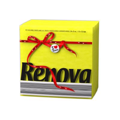 Ренова Салфетки Жълти Тип Е 320х330мм 70бр