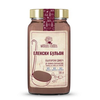 Вуудс Фуудс Бульон Еленски 720мл