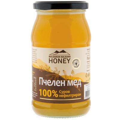 Балканс Хъни Пчелен Мед 100% Суров Полифлорен700г
