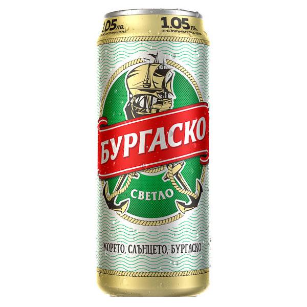 БУРГАСКО БИРА 0.500Л КЕН