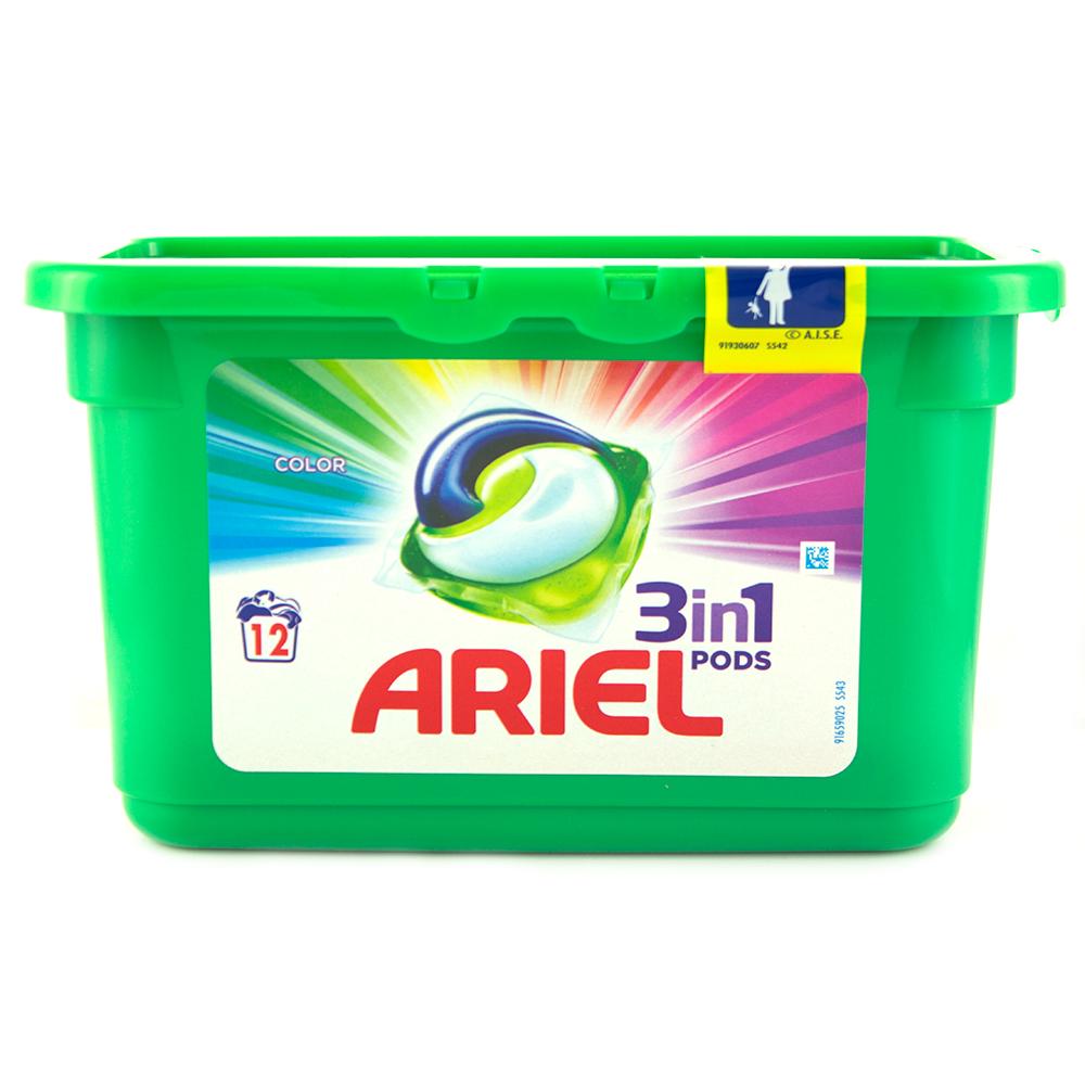 Ариел Капсули Всичко в едно цветно пране 13х25.2г