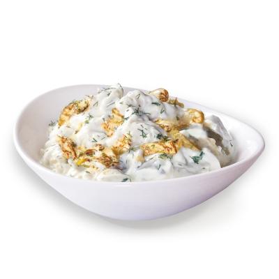 Кенар салата тиквички специален сос традиция кг