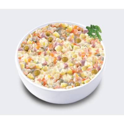 Кенар салата руска с колбас кг