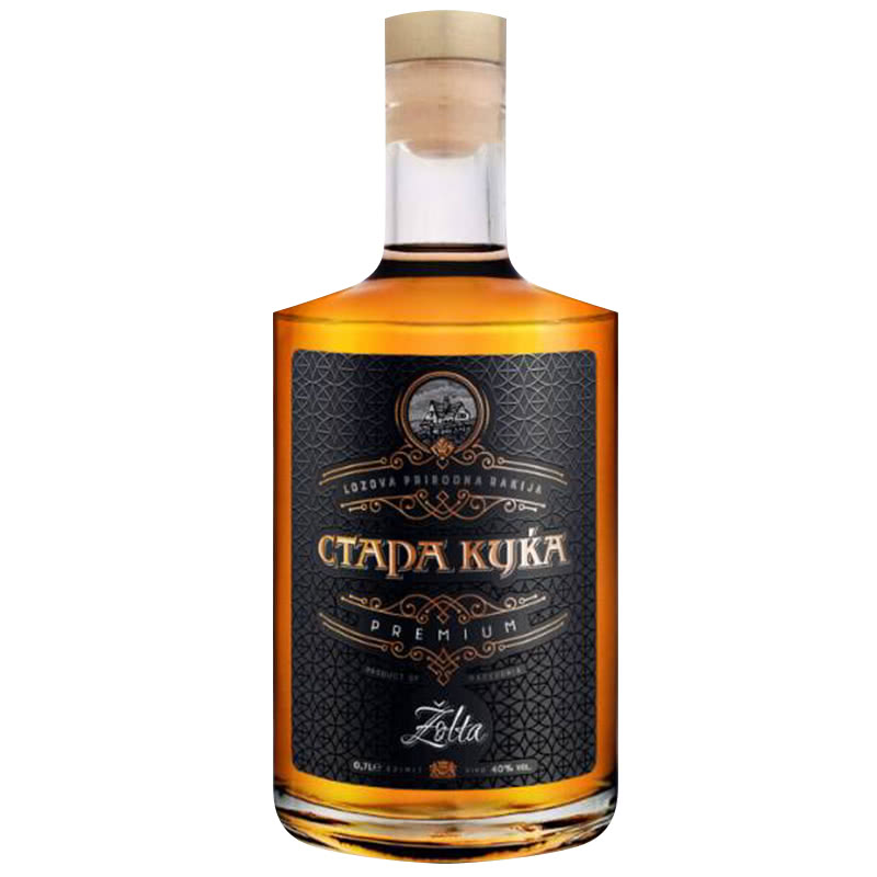 СТАРА КУКА РАКИЯ ЖЪЛТА 0.700Л
