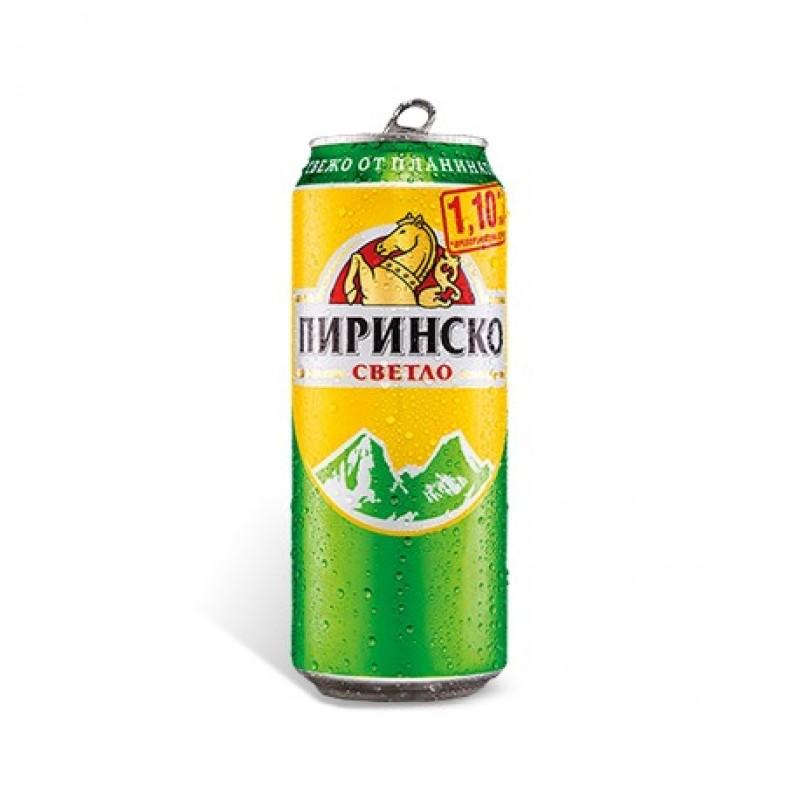 ПИРИНСКО БИРА 0.500Л КЕН