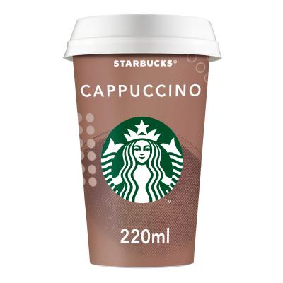 Старбъкс Напитка Капучино 220мл
