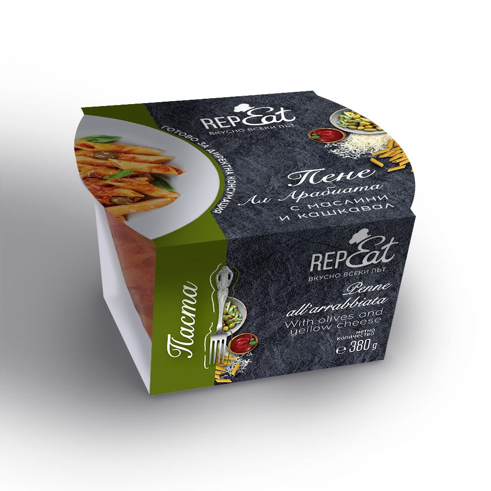 Кенар пене арабиата с маслини 380г
