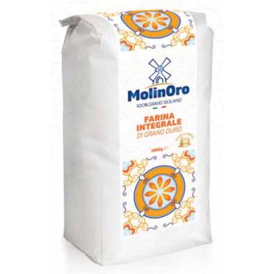 Молиноро брашно пълнозърнесто твърда пшеница 1кг
