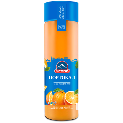 Олимпус Сок Натурален Портокал 100% 1л