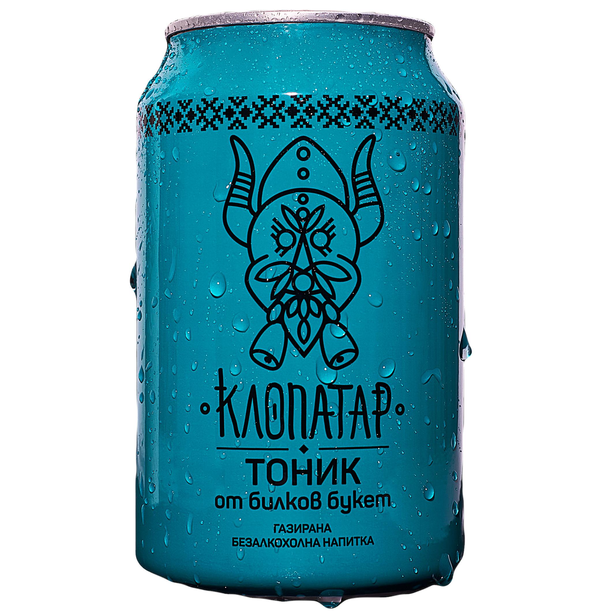 Клопатар Газирана Напитка Тоник 330мл