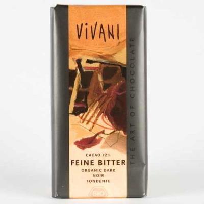 #Вивани Шоколад Натурален 71% Какао 100г