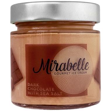 Мирабел сладолед занаятчийски шоколад със сол 246мл #