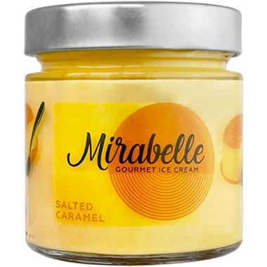 Мирабел сладолед занаятчийски солен карамел 246мл