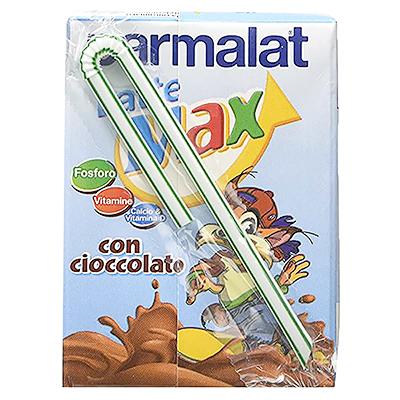 Пармалат мляко шоколадово лате макс 200мл